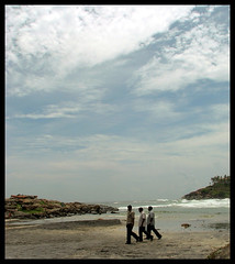 Trio (Midhun Manmadhan) Tags: sky india beach clouds kerala trivandrum kovalam blueribbonwinner supershot mywinners supershots anawesomeshot