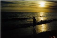 Shay 04-11-2001 beach (Cindy シンデイー) Tags: beach florida north reddington