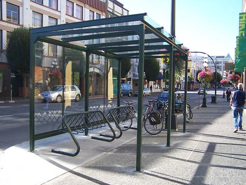 mec bike shelter complete