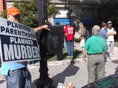 Today's Other Protest: Abortion Protesters Downtown
