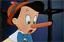 long nose pinocchio