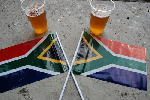 love for country - love for beer - love for game