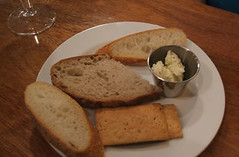 Bread and cracker plate