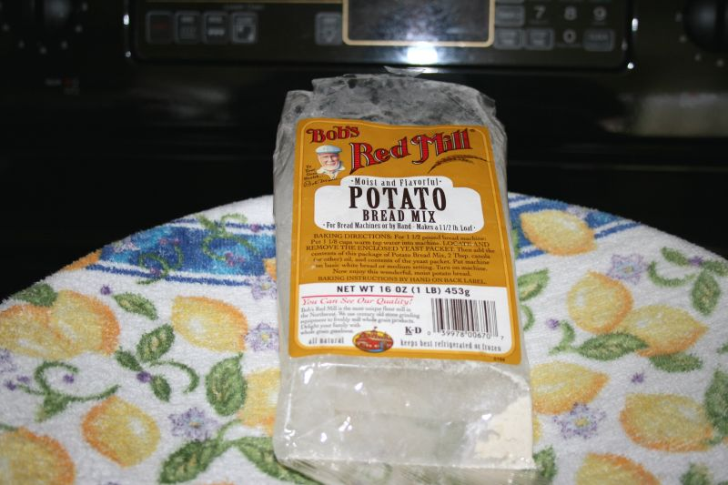 Potato bread mix
