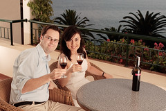 Honeymoon, finally... cheers (Fi20100) Tags: flowers vacation holiday portugal hotel evening couple honeymoon view wine balcony atlantic wife cheers suite madeira atlanticocean 1740mm canonef1740mmf4lusm 1740 funchal skl 1740l jamas ilmare madeirawine kippis thecliffbay canonspeedlite430ex offcameraflash ste2 cliffbay 17404 canonrebelxt350d portobay 17404l lukia strobist onlocationlighting
