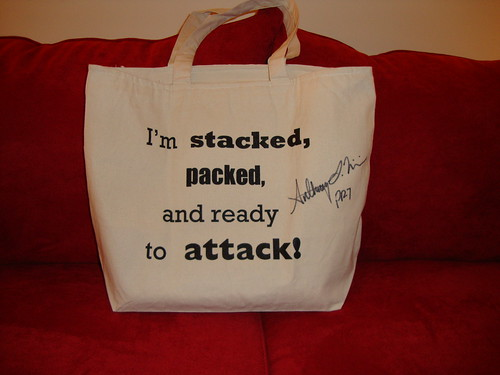 Anthony Williams (Project Runway season 7) bag
