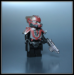 Red Tide (Geoshift) Tags: lego customlego legocustomminifig amazingarmory