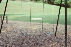 (kellyhavens) Tags: park swings