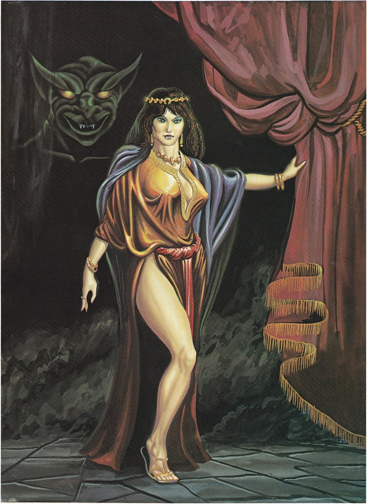 Down In The Dungeon - Don Greer, Rob Stern (Squadron-Signal_1981)- The Succubus