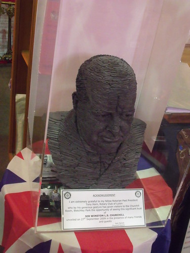 Bletchley Park - The Churchill Collection - Churchill bust