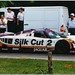 John Nielsen 1988 TWR Silk Cut Jaguar XJR-9 Group C. Goodwood Festival of Speed 1999.