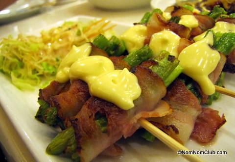 Asparagus Bacon Yaki