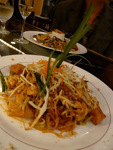 Pad Thai at Baan Sawan.