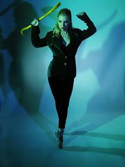 Badass Ballet (wirehead) Tags: ballet woman girl model crowbar g7 strobist christinar