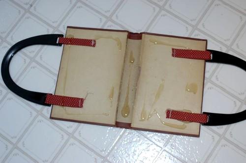 Book purse tutorial Hungrypanda Makes Stuff