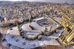 Mekkah's Great Mosque...  (HDRi) (Nomad Saleh) Tags: art geotagged minaret muslim islam religion mosque nomad saudiarabia hdr mecca allah umrah islamic makkah hajj makka kaba kaaba mekkah hira zamzam photomatix tonemapped geo:tool=gmif hiraa gharhiraa geo:lat=21422390 geo:lon=39826126