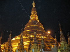 NIGHT SCENE AT PAGODA
