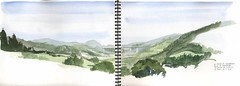 candanal (4ojos) Tags: travel flores illustration drawing asturias sketchbook watercolour enrique 4ojos enriqueflores