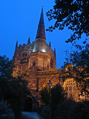Ormskirk church (Mr Grimesdale) Tags: tower church night lancashire steeple ormskirk capitalofculture mrgrimsdale stevewallace capitalofculture2008 liverpoolcapitalofculture2008 europeancapitalofculture2008 ormskirkchurch liverpoolcapitalofculture towerandsteeple mrgrimesdale grimesdale