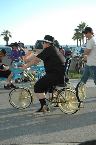 bicycle in venice beach california