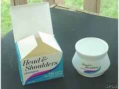 1970's Head and Shoulders (twitchery) Tags: vintage hair shampoo 70s dandruff vintageads vintagebeauty
