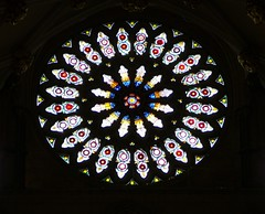 York Minster.The Rose Window, restored - by the noggin_nogged