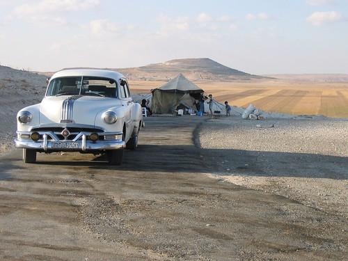 Oldtimer in der Wüste