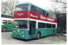 WYPTE (Andrew Stopford) Tags: travel urban bus travelling interesting travellers transport passengers transportation transit passenger recreation halifax roe daimler fleetline psv wypte leedscitytransport elmwoodgarage crg6 lua135f