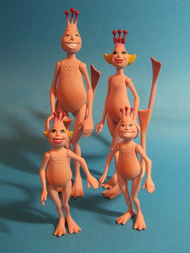 Sea Monkey Family