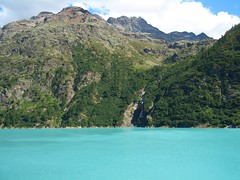 Place Moulin - Lago (renatomales) Tags: lago aosta valledaosta diga