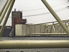 Maeslantkering (sjoerd_reverda) Tags: waterworks rozenburg deltawerken waterkering s5600 maeslantkering