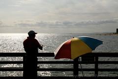 (tozzer) Tags: nyc beach nycpb brooklyn umbrella coneyisland pier astroland astrolandpark