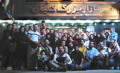 WE / Sara Restaurant (Hamed Saber) Tags: night dinner iran ceremony fast gathering tehran ramadan groupshot flickrmeetup ramazan   eftar    flickr:user=hamedsaber sararestaurant kishbazar upcoming:event=266085