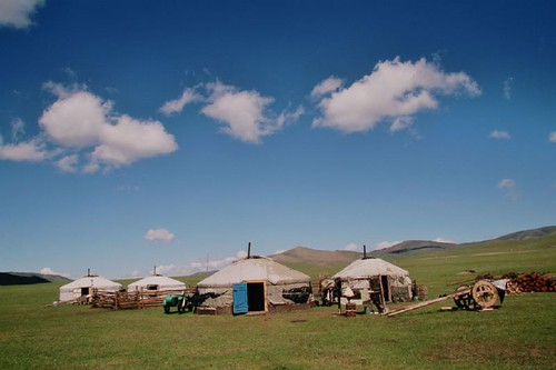 Clouds vs yurts