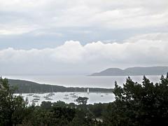 Baie de Rondinara après l'orage