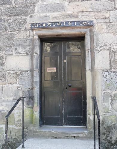 Doorway lintel, Falkland.