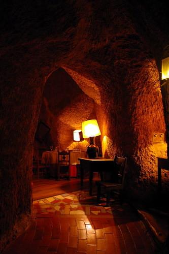 interior de una de las bodegas