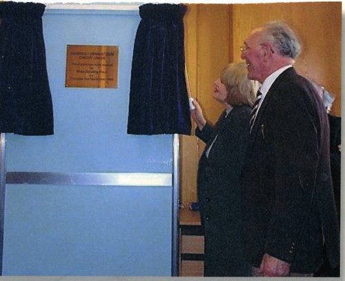 Dorothy Paul Opening Haghill / Dennistoun Credit Union 1999