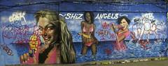 London - Graffiti Tunnel (farg4graf) Tags: color colour london colors graffiti design artwork stencil paint artist colours tunnel tags angels aerosol skill nozzles london can street tunnel spray graffiti leake