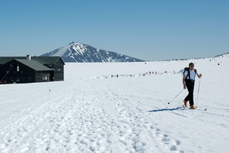 Oficiální skialpinistické trasy v Krkonoších