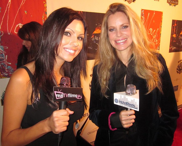 Krystle Lina, Kristin Bauer, Cosmic Starship Harley Davidson