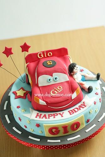 McQueen 3D Cars Cake - Gio