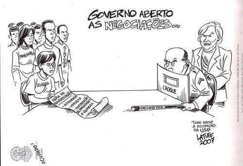 Serra e a Educação, por Carlos Latuff