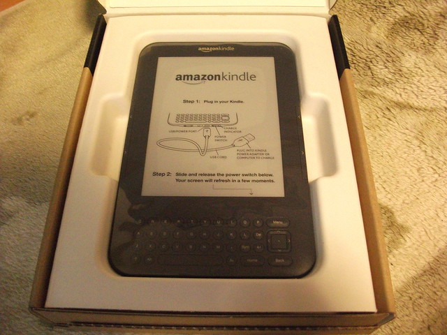 Amazon Kindle 3 arrived