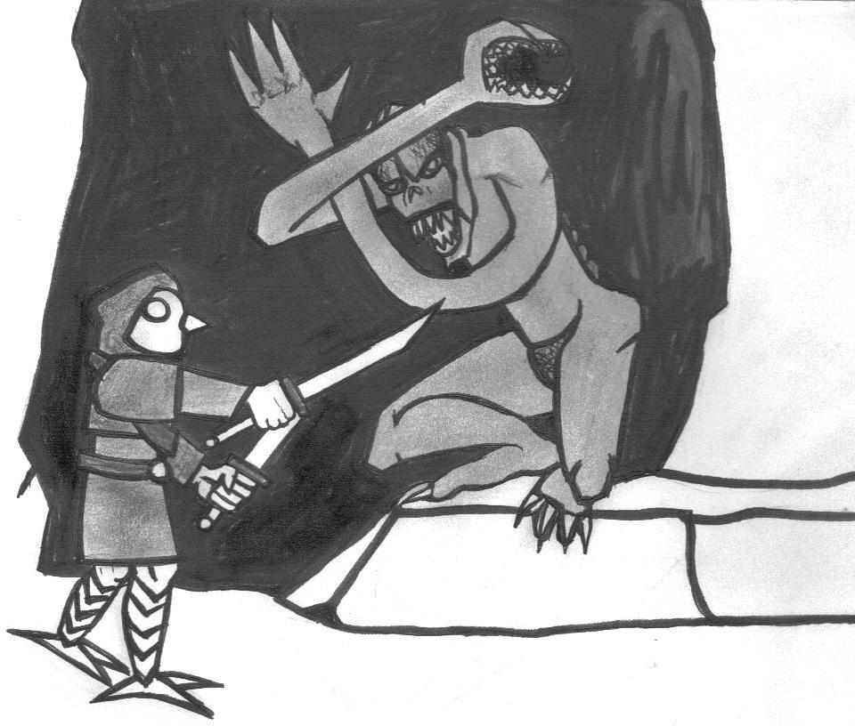 Damu vs a Choker