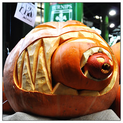 Cannibal pumpkin (Bob the Binman) Tags: london halloween pumpkin candid boroughmarket southwark londonist nikond90