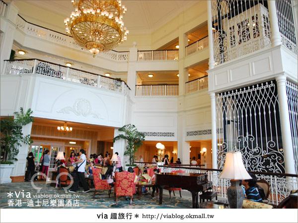 【香港住宿】跟著via玩香港(4)~迪士尼樂園酒店(外觀、房間篇)19