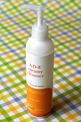 Earth Science, A-D-E Creamy Cleanser
