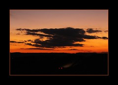 Fahrt in die Nacht  (Ride into the night) (alfred.hausberger) Tags: sunset sonnenuntergang nacht nachtaufnahme fahrt updatecollection