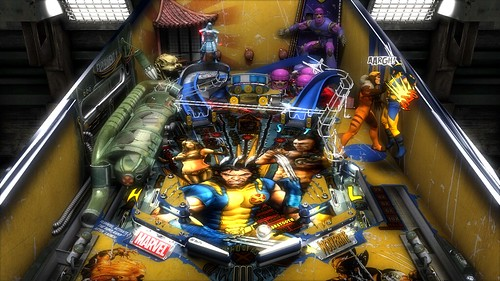 Marvel Pinball PS3: Wolverine